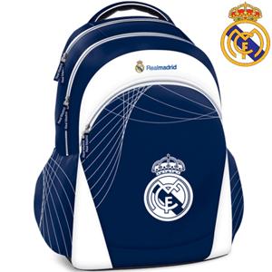 Ghiozdane scolare tema Fotbal: Real Madrid si FC Barcelona