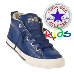 All Star Converse Street Leather Mid