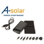 Incarcator solar portabil A-Solar Platinum Plus