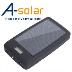 Incarcator portabil solar Quartz (inclusiv camere foto si video)
