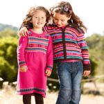 Jacheta tricotata colorata