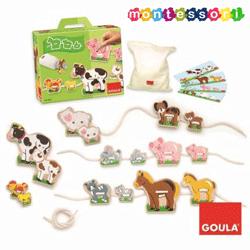 Jucarie Montessori Animale domestice