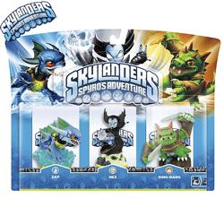 Figurine Skylander Giants: Zap, Hex, Dino-Rang