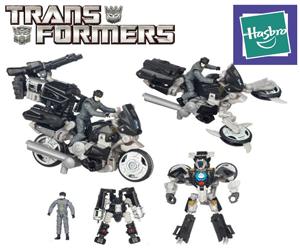 Jucarii roboti Transformers Tailpipe & Noble