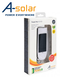 Lanterna - incarcator - solar cu dinam A-Solar Travel Pal