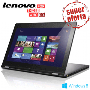 Laptop Ultrabook Touchscreen Lenovo IdeaPad Yoga 13, Intel Core i7