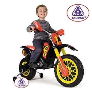 Motocicleta electrica pentru copii cu baterie 6V