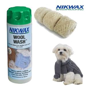 Nikwax Wool Wash – detergent, solutie de curatare pentru imbracaminte din lana