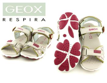 Sandale GEOX fetite. Lila din piele naturala
