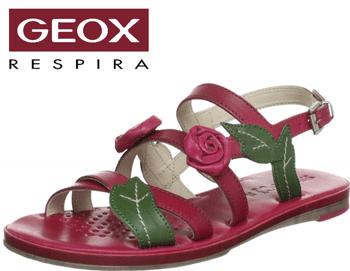 Sandale GEOX fetite Fidia rose din piele