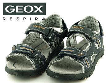 Sandale baieti Geox din piele naturala