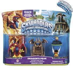 Pachet Dragon's Peak - Skylanders Spyro's Adventure
