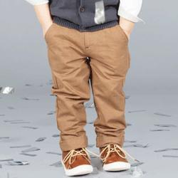 Pantaloni lungi baieti 0-5 ani Chino Twill
