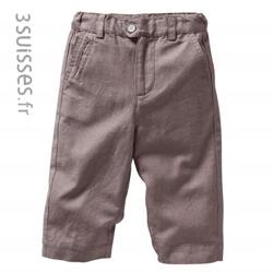 Pantaloni baieti 0-5 ani din bumbac si in