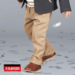 Pantaloni pentru baieti 0-14 ani: moda franceza toamna iarna