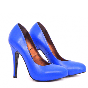 Pantofi Condur din piele naturala cu platou intern