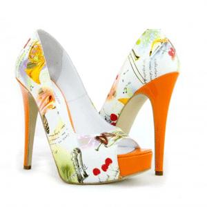 Pantofi Condur Cherry Summer