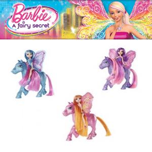 Papusi Barbie Secretul Zanelor cu mini ponei