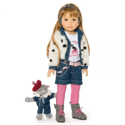 Papusa Galina si pisicuta Kidz`n'Cats Sonja Hartmann