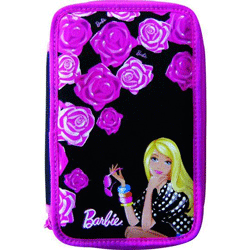 Penar scolar dublu echipat Barbie