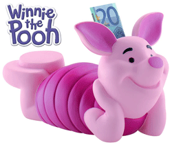 Pusculita Porcusor Winnie the Pooh