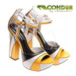 Sandale Condur Black Yellow Cane