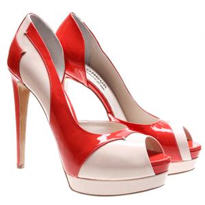 Sandale cu toc elegante create de Condur!