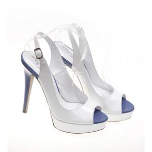 Sandale de dama Condur White Cream