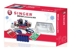 Set complet accesorii Singer MegaBox