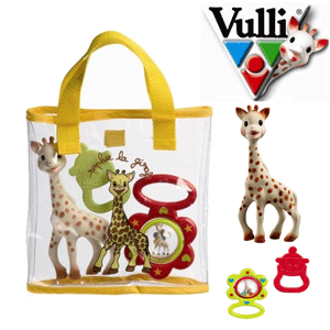 Set cadou pentru bebelusi Girafa Sophie