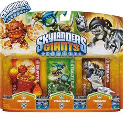 Jucarii: Caracterele Skylander Giants. Colectioneaza figurinele cu gigantii Skylander