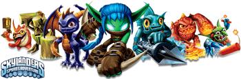 Peste 30 de personaje Skylanders Giants