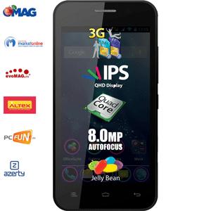 Smartphone-ul Allview Dual-Sim P5 Quad: Full HD, jocuri 3D si viteza pe internet