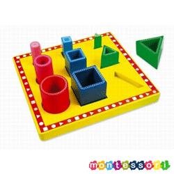 Sortator Montessori forme si obiecte Vario