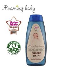 Spumant de baie fara parabeni pentru bebelusi