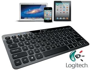 Tastatura Bluetooth Logitech Iluminata K810 pentru PC, tableta sau smartphone iPhone sau Android