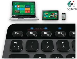 Logitech K810 PC, Tablet Smartphone Keyboard