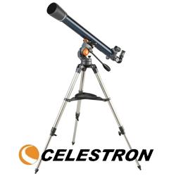 Telescop Celestron Astromaster 70AZ refractor pentru amatori