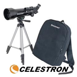 Telescopul astronomic pentru incepatori Celestron Travel Scoper 70