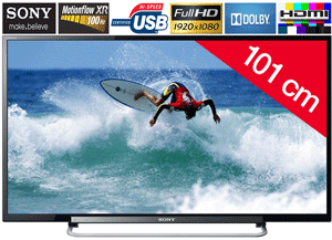 Televizor LED Sony Full HD 100Mhz - Redare USB si HDMI