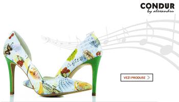 Vezi colectia de pantofi si sandale din piele Condur by Alexandru