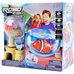 Set complet Zuru Robofish cu acvariu
