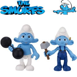 Figurine Strumfi - Hefty si Handy