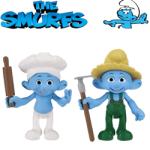 Figurine Strumfi: Baker si Farmer