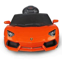 Masinuta electrica cu telecomanda pentru fetite: Lamborghini LP700-4