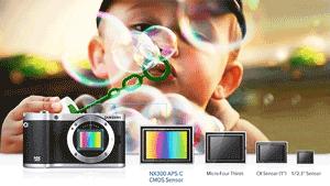 Camera foto NX300 filmeaza Full HD la 1080 / 60p
