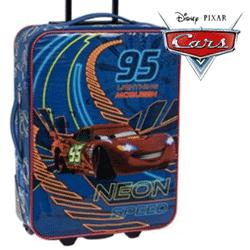 Troler textil Disney Cars 2 roti NEON 2.0