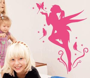 Autocolant pentru peretii camerei fetite: Zane