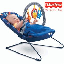 Balansoarul cu vibratii pentru bebe Cover 'n Play de la Fisher Price