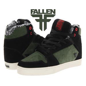 Skate Shoes: Bascheti Fallen imblaniti